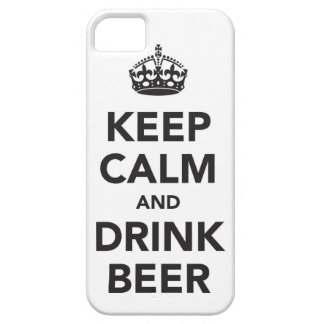 Keep Calm And Drink Beer Phrase iPhone SE/5/5s Case