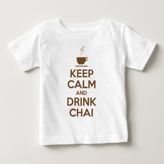 KEEP CALM AND DRINK CHAI BABY T-Shirt