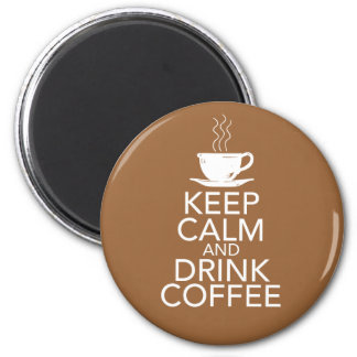 Keep Calm and Drink Coffee Gift Items Magnet