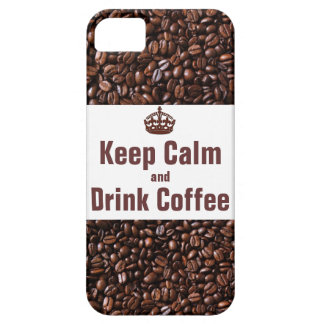 Keep Calm and Drink Coffee iPhone5 Case