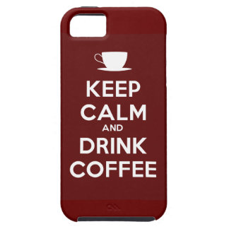 Keep Calm and Drink Coffee iPhone SE/5/5s Case