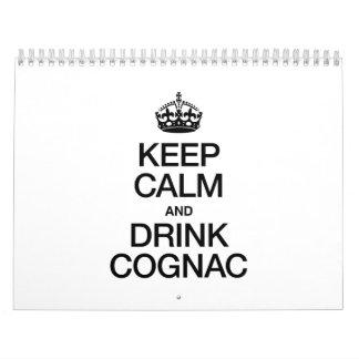 KEEP CALM AND DRINK COGNAC CALENDAR
