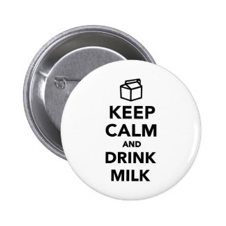 Keep calm and drink Milk Pins