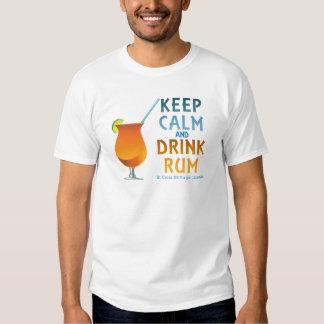 Keep Calm and Drink Rum :: St Croix USVI T-Shirt