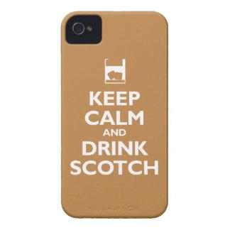 Keep Calm and Drink Scotch (copper) Case-Mate iPhone 4 Case