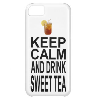 Keep Calm and Drink Sweet Tea Case For iPhone 5C