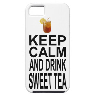 Keep Calm and Drink Sweet Tea iPhone SE/5/5s Case