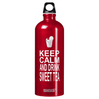 Keep Calm and Drink Sweet Tea Water Bottle