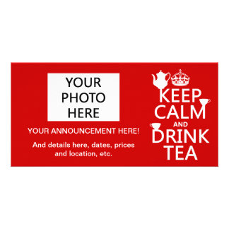 Keep Calm and Drink Tea - All Colors Card