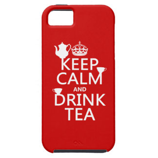 Keep Calm and Drink Tea - All Colors iPhone SE/5/5s Case