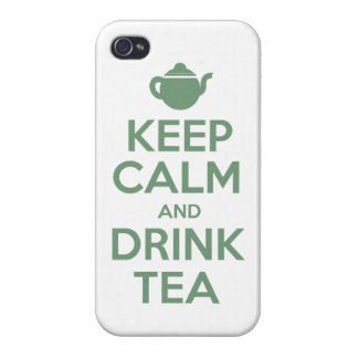 Keep Calm And Drink Tea iPhone Case iPhone 4 Cases