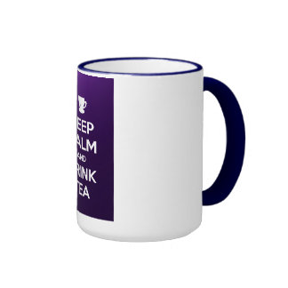 Keep calm and drink tea mugs