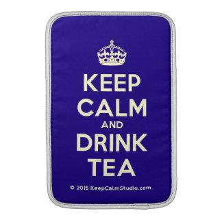 Keep Calm and Drink Tea Sleeve For MacBook Air