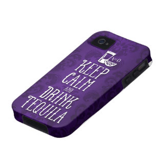 keep calm and drink tequila Case-Mate iPhone 4 covers