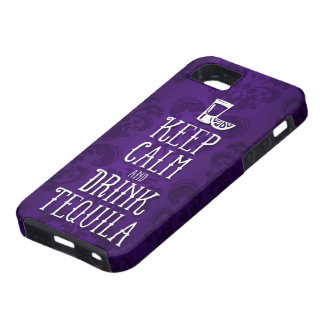 Keep Calm and Drink Tequila iPhone SE/5/5s Case