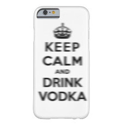 Case-Mate Barely There iPhone 6 Case with Keep Calm and Drink Vodka design