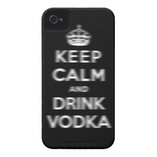 Keep calm and drink vodka Case-Mate iPhone 4 case