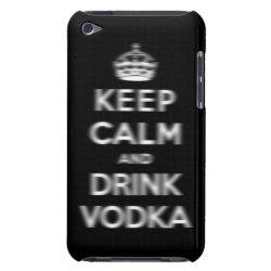 Case-Mate iPod Touch Barely There Case with Keep Calm and Drink Vodka design