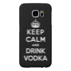 Case-Mate Barely There Samsung Galaxy S6 Case with Keep Calm and Drink Vodka design