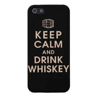Keep calm and drink Whiskey barrel alcohol spirits Case For iPhone SE/5/5s