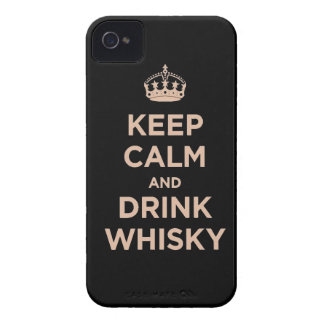 keep calm and drink Whisky alcohol barrel jack Dan iPhone 4 Case-Mate Cases