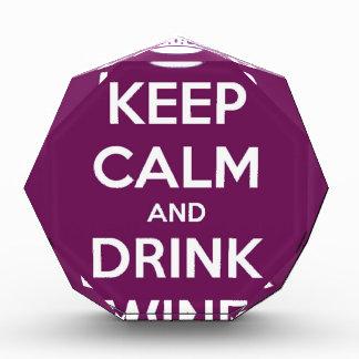 Keep Calm and Drink Wine Award