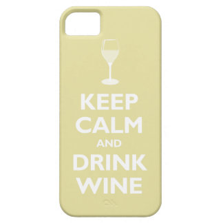 Keep Calm and Drink Wine (chardonnay) iPhone SE/5/5s Case