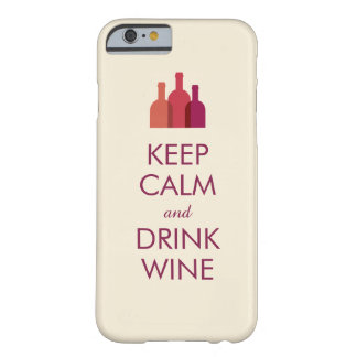 Keep Calm and Drink Wine Custom iPhone 6 case