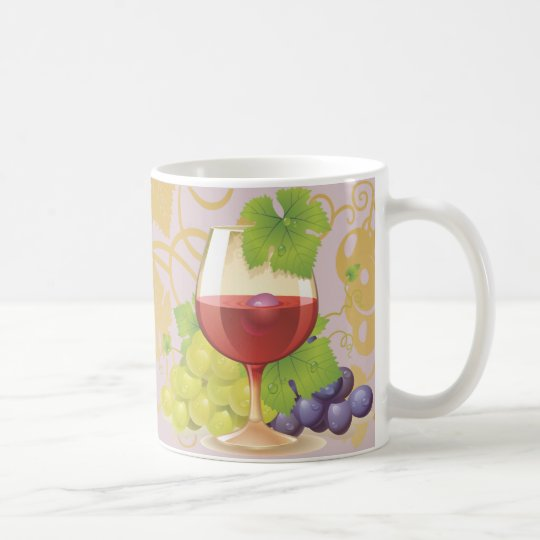 Keep Calm and Drink Wine Gift Unique Art Design Coffee Mug