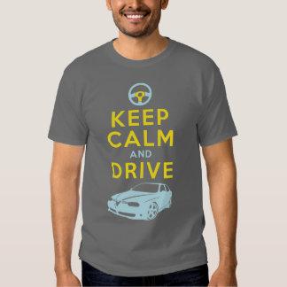 Keep Calm and Drive -156- /version4 T-shirt