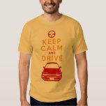 Keep Calm and Drive -AE86- Tshirts