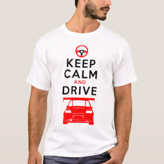 Keep Calm and Drive -Impreza- /version3 T-Shirt