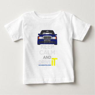 Keep Calm and Drive IT - cod. 190e-25-16v-evo-II.p Baby T-Shirt