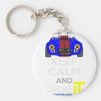 Keep Calm and Drive IT - cod. 1965Cobra427 Keychain