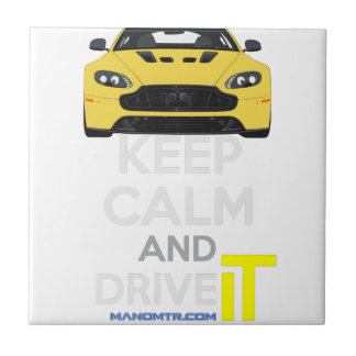 Keep Calm and Drive IT - cod. A-SVantageS Ceramic Tile