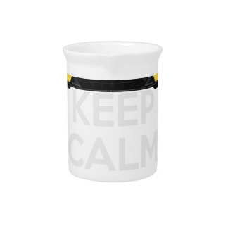 Keep Calm and Drive IT - cod. A-SVantageS Drink Pitcher