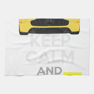 Keep Calm and Drive IT - cod. A-SVantageS Kitchen Towel