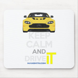 Keep Calm and Drive IT - cod. A-SVantageS Mouse Pad
