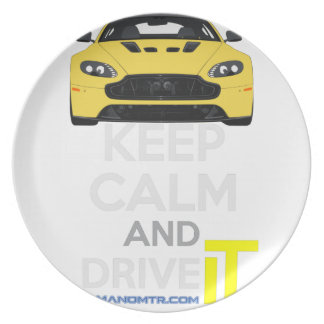 Keep Calm and Drive IT - cod. A-SVantageS Plate