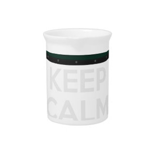 Keep Calm and Drive IT - cod. ExigeS1 Beverage Pitcher