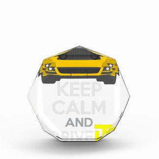 Keep Calm and Drive IT - cod. Mustang302Boss Acrylic Award