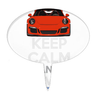 Keep Calm and Drive IT - codPRSC Cake Topper