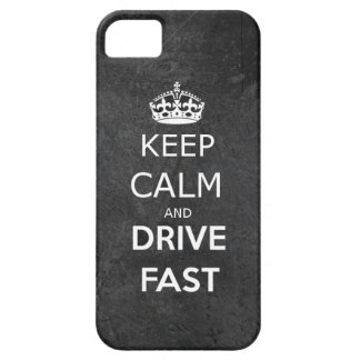 Keep Calm and drive nearly iPhone SE/5/5s Case