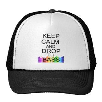 Keep Calm and Drop The Bass Trucker Hat