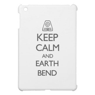 Keep Calm and Earth Bend iPad Mini Cover