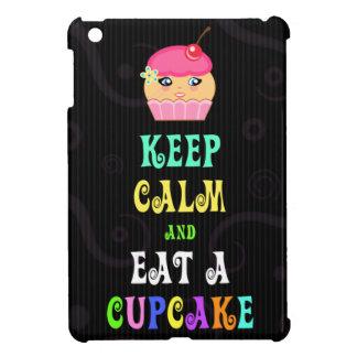Keep Calm And Eat A Cupcake Cute IPad Mini Case iPad Mini Covers