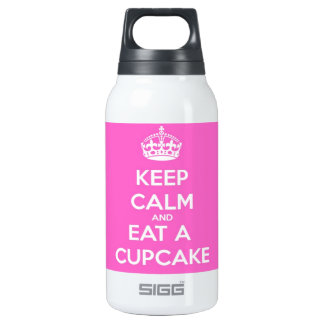 Keep Calm and Eat a Cupcake Thermos Bottle