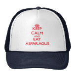 Keep calm and eat Asparagus Trucker Hat