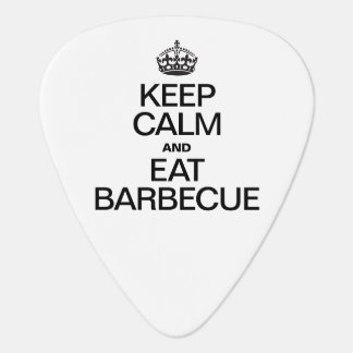 KEEP CALM AND EAT BARBECUE PICK