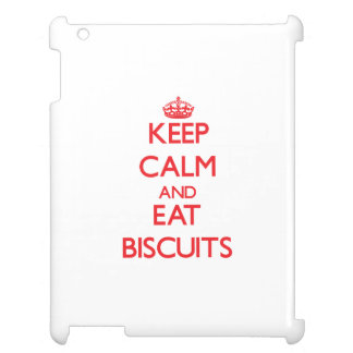 Keep calm and eat Biscuits Case For The iPad